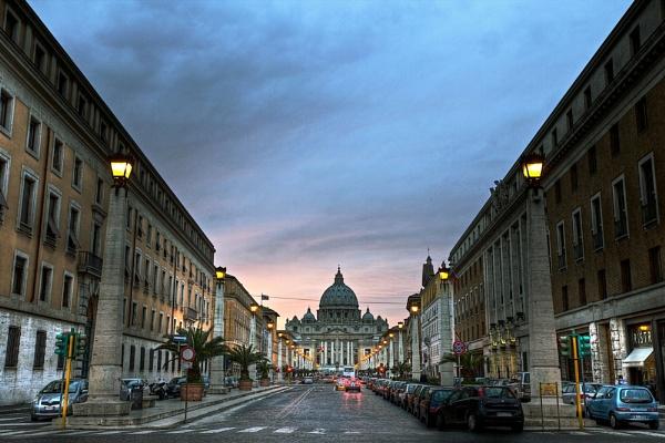 To the Vatican by Pavan_Chavda