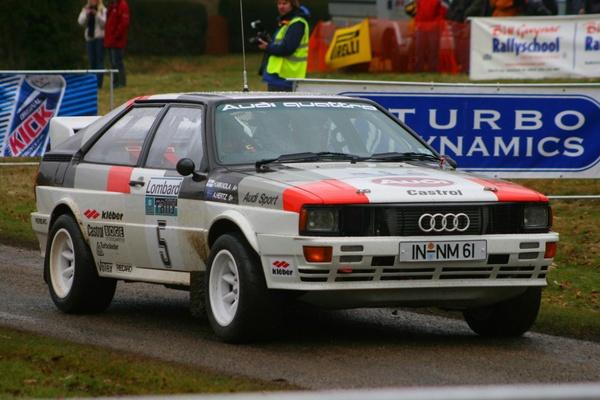 Audi Quattro by Flatmat