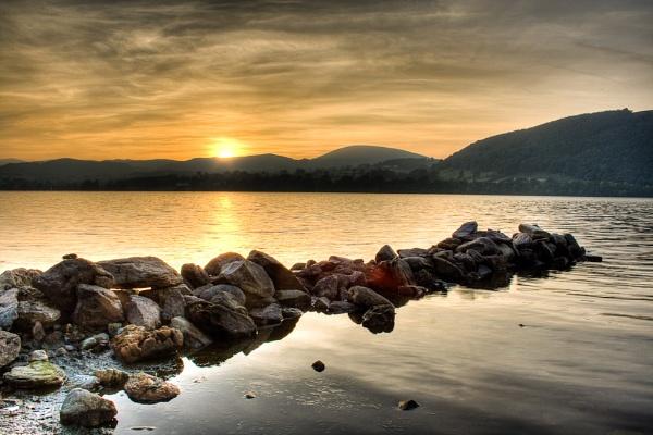 Ullswater Sunset by darrenackers