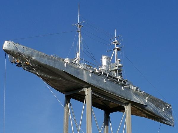 HMS Ramillies Sculpture by harky2402