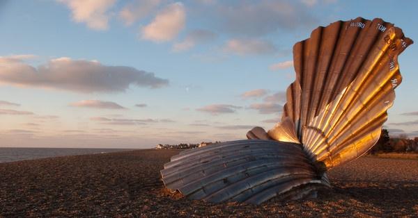 The Scallop Aldeburgh Beach by essexdean
