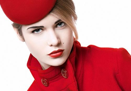 Hannah in Red by MerryP