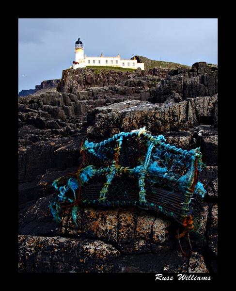 Lobster Pot & Lighthouse by hairymonkey