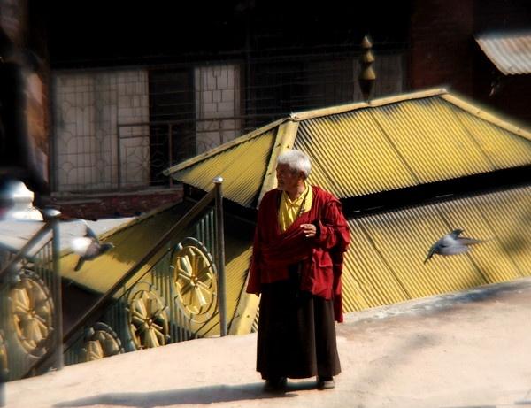 Katmandu  Monk by bigbudda