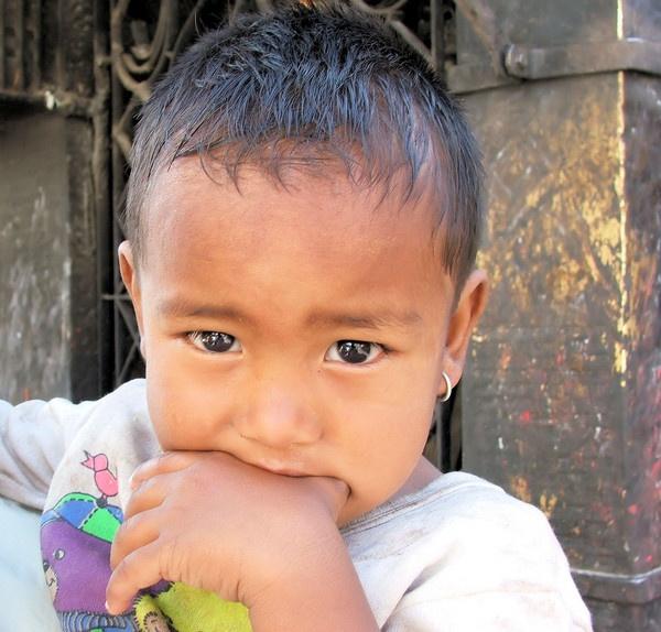 Nepalese boy by bigbudda