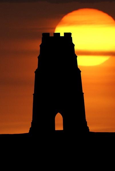 Glastonbury tor by GRPSTEVE
