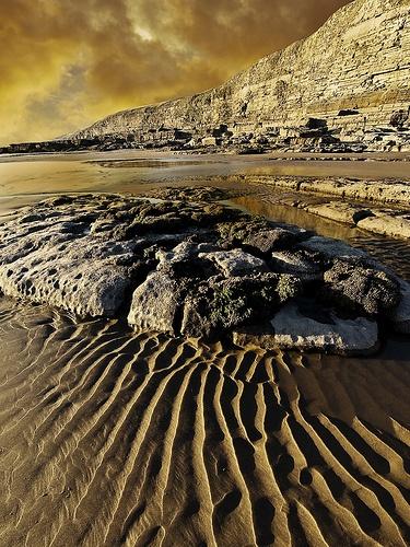 Sand Patterns by Fluke
