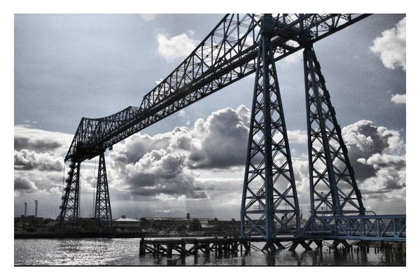 Transporter Bridge by TonyB555