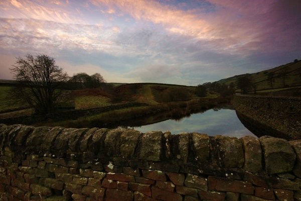 Poinden Reservoir by Warriorpoet