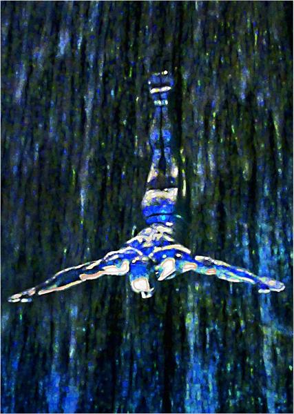 Diving Alien by JdeNLucas