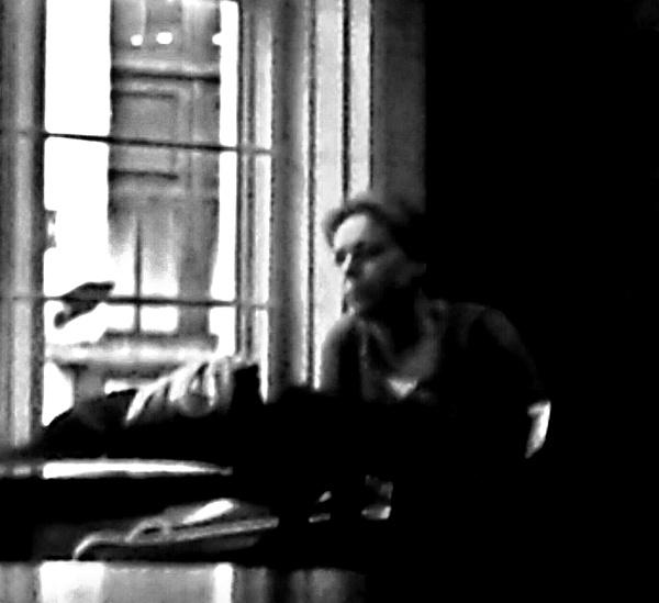 By the window. by qosmio