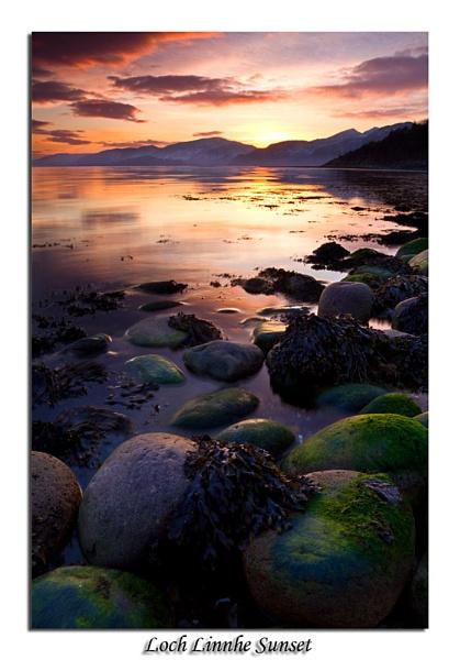 Sunset Over Loch Linnhe by Skinz