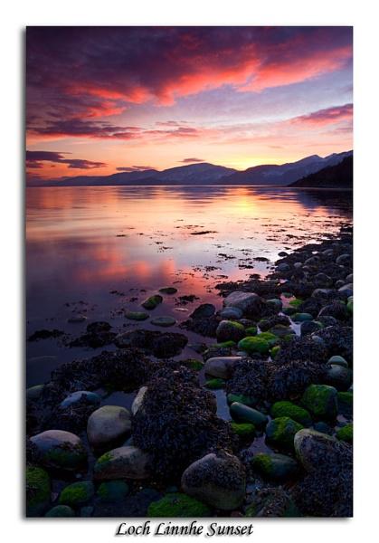Loch Linnhe Sunset by Skinz