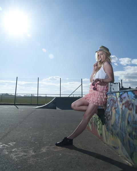 Sunshine Skate...park by Cheekymunky