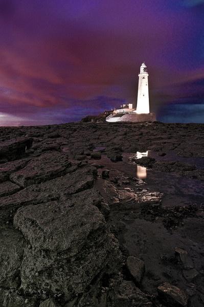 St Marys Lighthouse by robmann72