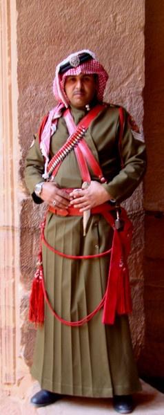 Guard at Petra by nishad1994