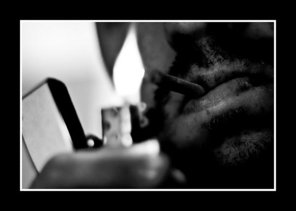 Smoking by touchingportraits