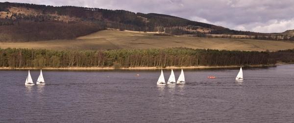 Lochore Sailboats by kaylesh