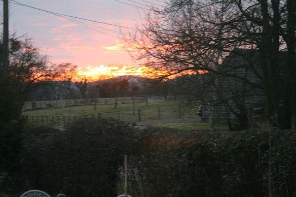 Malverns sunset by BobbyHB