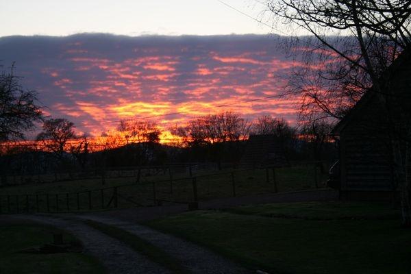 "\""Red sky at night......... by BobbyHB"