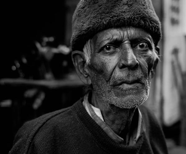 Street Seller by BURNBLUE