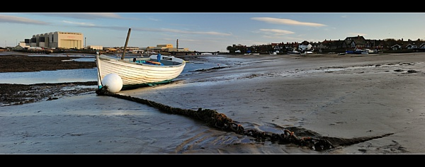 Chained to the channel by dathersmith