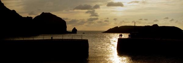 Cornish Sunset by paulraymondphotography