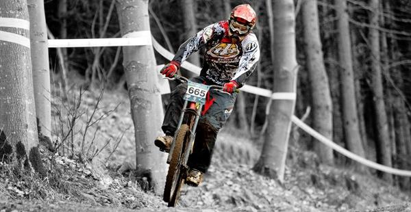 MTB Rider by davidlaurie