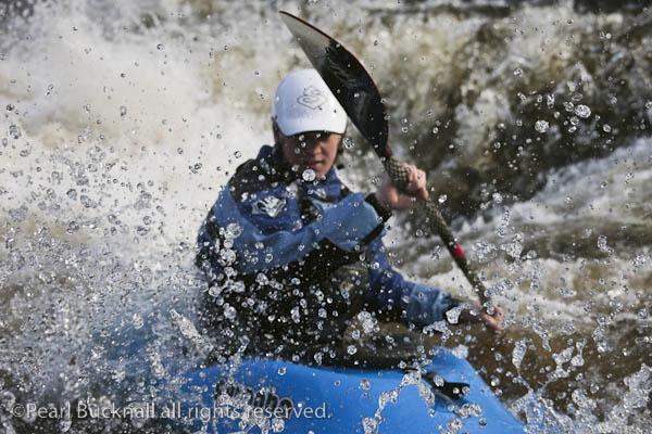 Kayaking by pearlbucknall