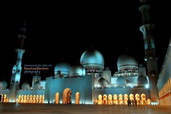 Grand Masjid- Abudhabi by naushadme
