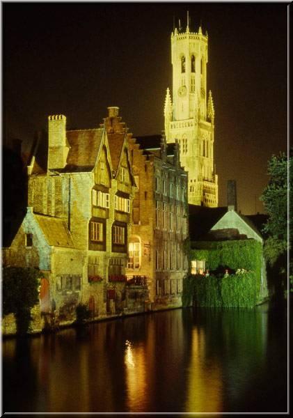 Brugge by night by telstar500