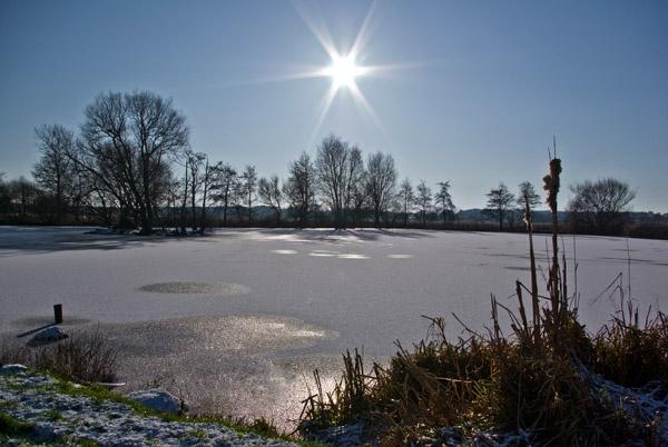 Frozen Lake by telstar500