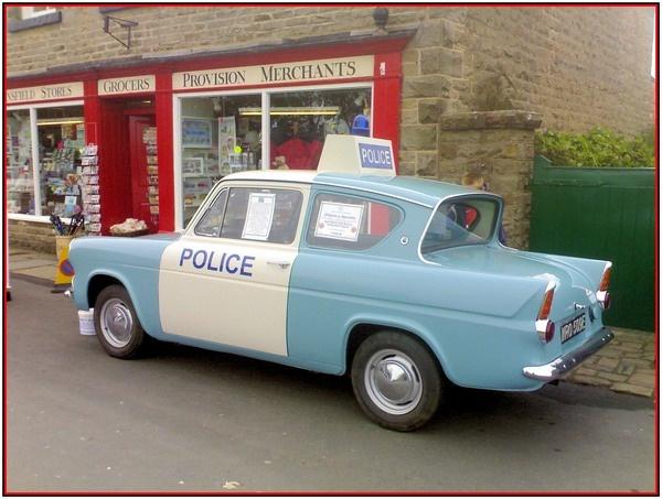 police car by dave-heald