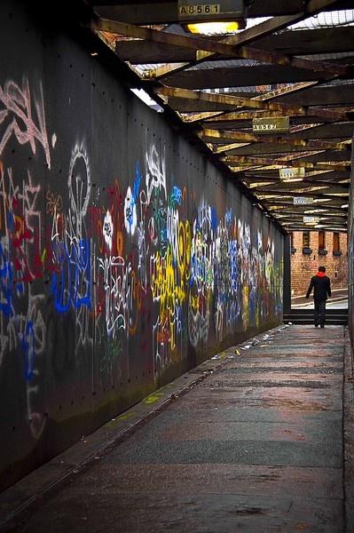 Graffiti Bridge by AnnieKisster