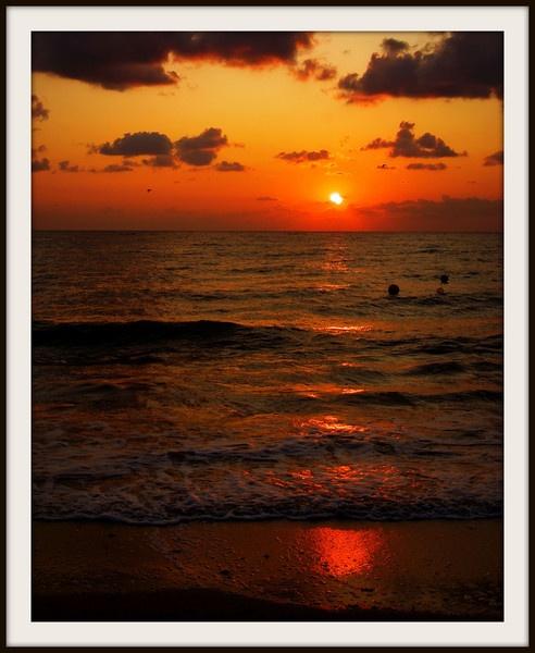 Sunrise at the Black Sea by Bonico