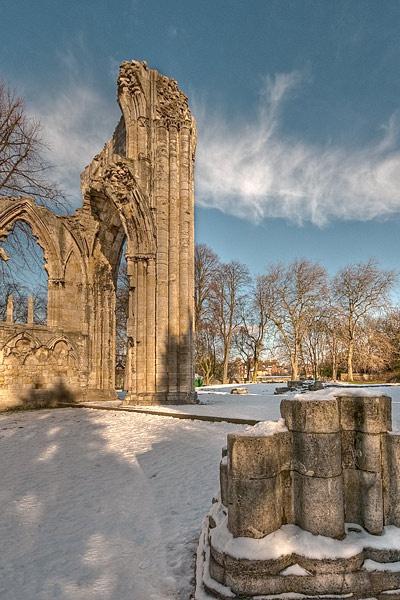 St Mary\'s Abbey, York by twelvemegs