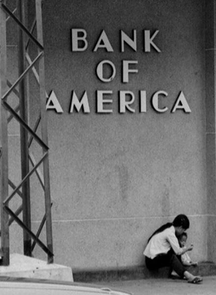 Bank of America, Vietnam 1969 by Aldo Panzieri