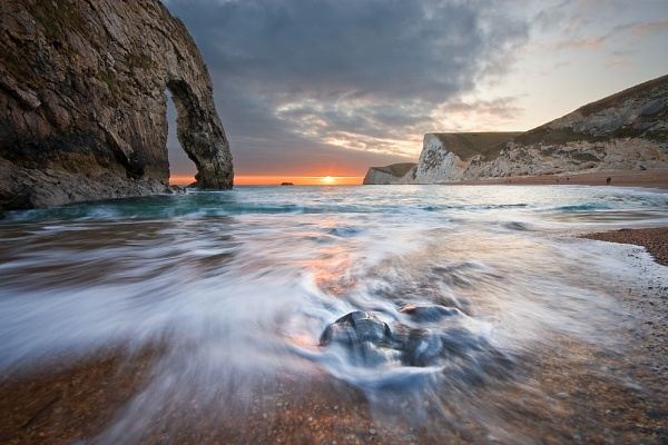 Durdle Door - Sunset Rush