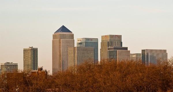 London Skyline by colmar