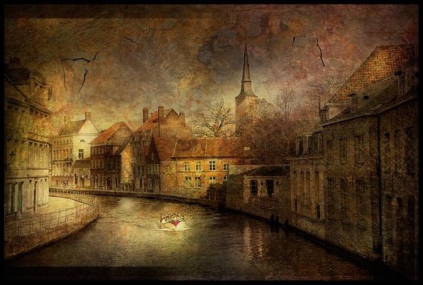 Bruges- Verwersdijk. by Cor