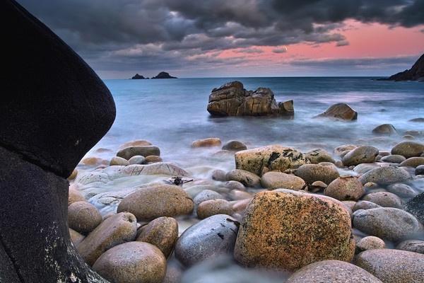 A Nanven moonlit morning. by LeaTippett