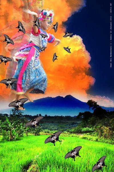 Dewi Sri Memberkati by Alfonzoo