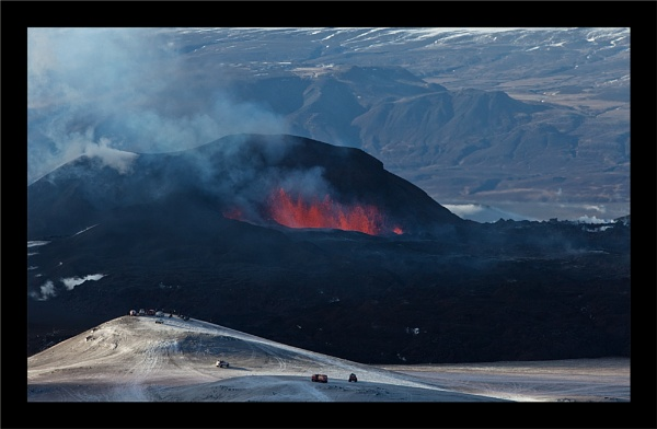Iceland - Eyjafjallajökull Volcano Erupts by Jalapeno