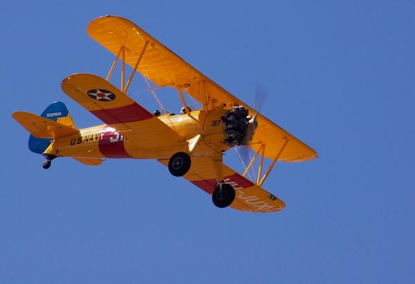 US Navy Bi-plane by bigredtim