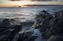 Sunset over Ailsa Craig