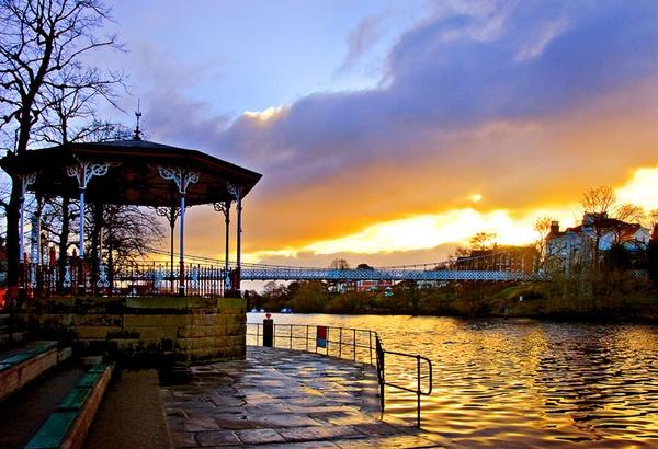 River Dee Bandstand by lensman