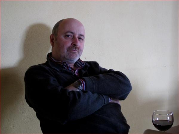 Pat in pensive mood by Mavis
