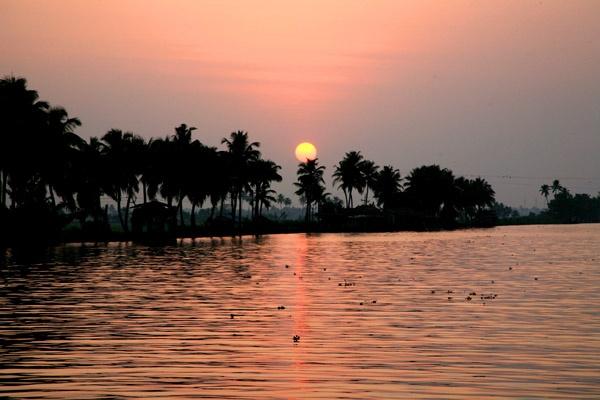 Kerala sunset by brianwakeling