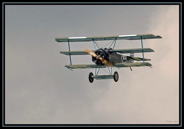 Fokker Triplane by patspeirs