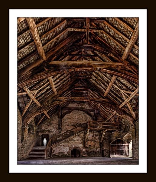 Stokesay Castle by cassiecat